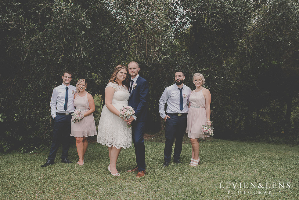 bridal party {Northland-Auckland-Waikato wedding photographer}