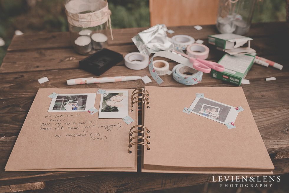 photo book guests {Auckland-Hamilton-Tauranga wedding photographer}