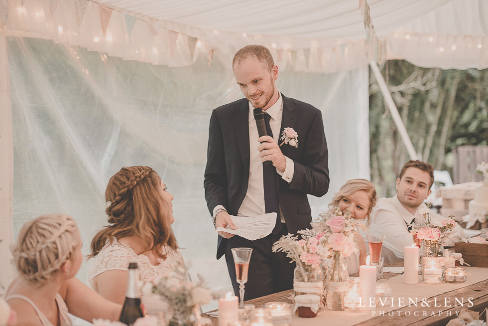 speeches reception {Auckland-Hamilton-Tauranga wedding photographer}