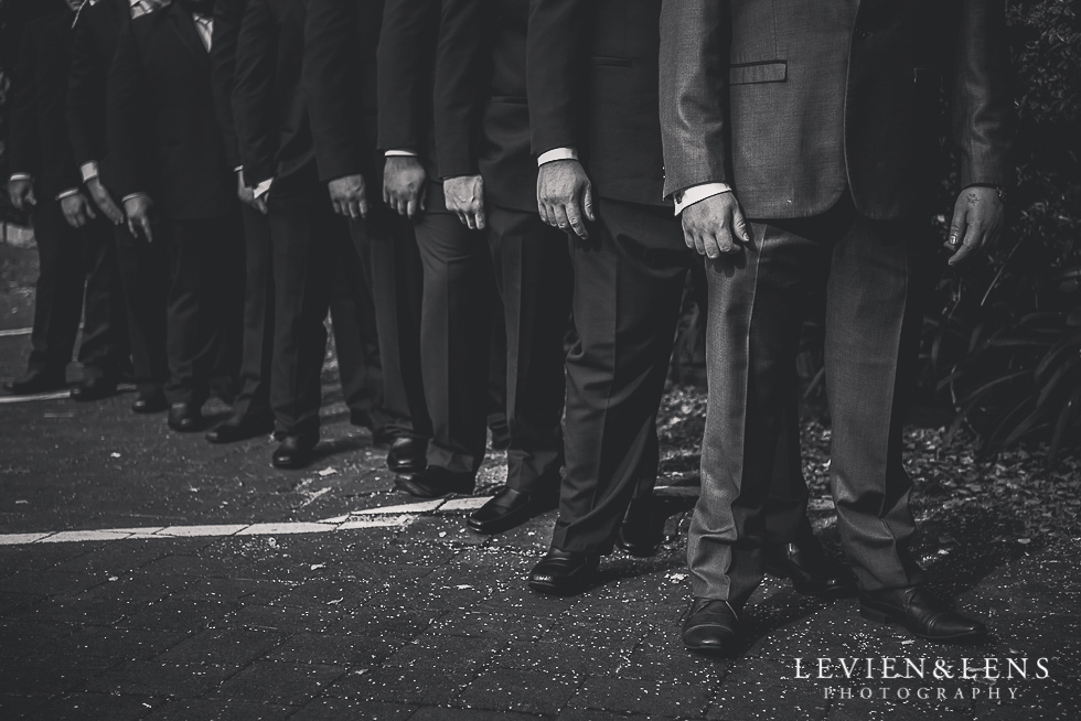 groomsmen Church Of The Holy Sepulchre - Bastion Point {Auckland NZ lifestyle wedding-engagement photographer}