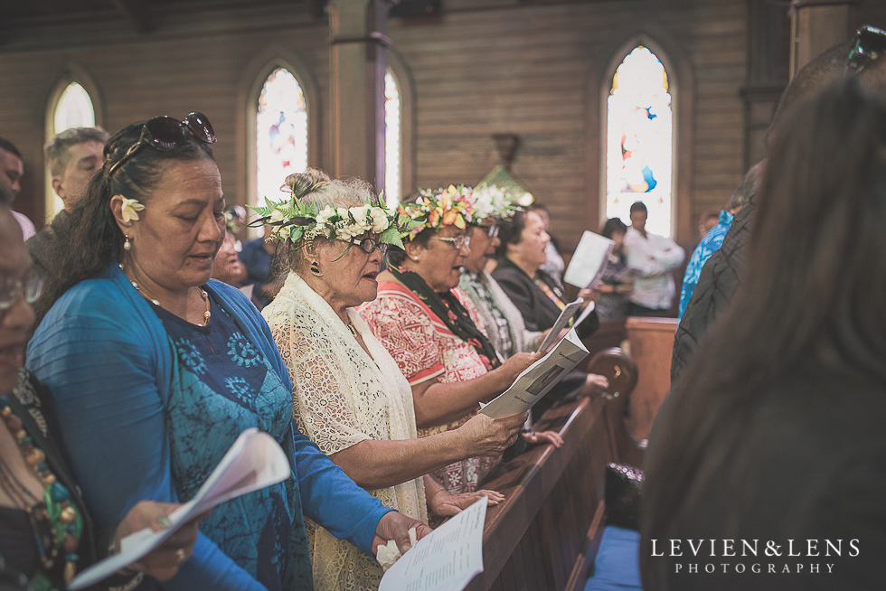 guests ceremony Church Of The Holy Sepulchre - Bastion Point {Auckland NZ lifestyle wedding-engagement photographer}
