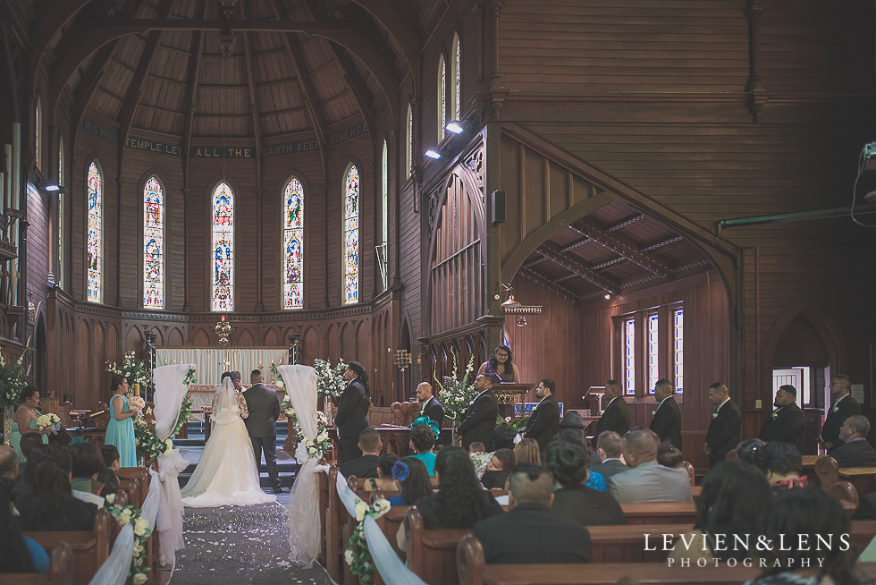 ceremony aisle Church Of The Holy Sepulchre - Bastion Point {Auckland NZ lifestyle wedding-engagement photographer}