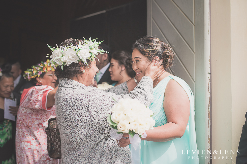after ceremony Church Of The Holy Sepulchre - Bastion Point {Auckland NZ lifestyle wedding-engagement photographer}