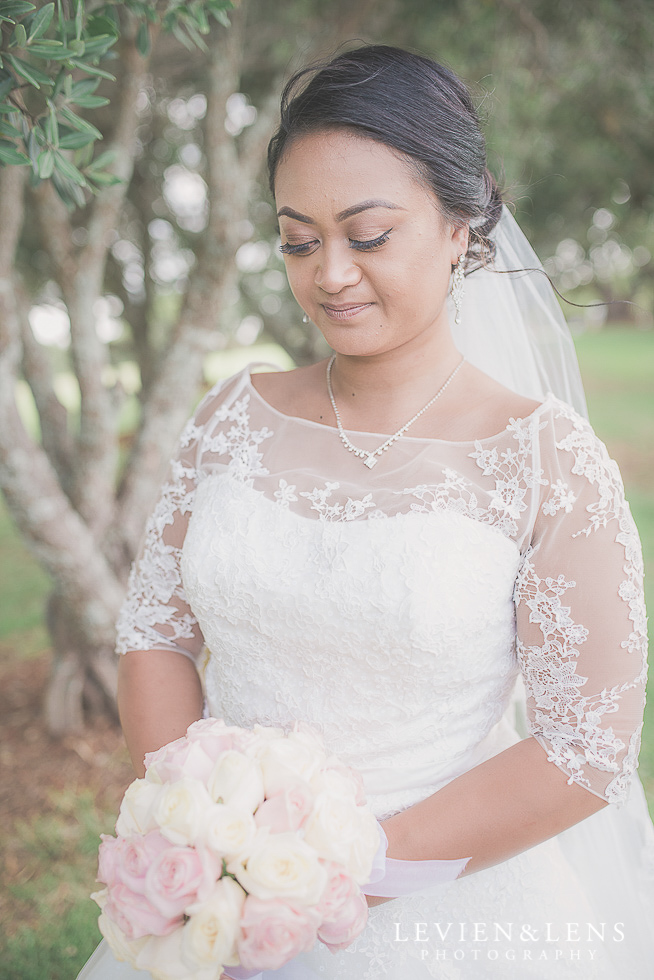 bridal portraiture Church Of The Holy Sepulchre - Bastion Point {Auckland NZ lifestyle wedding-engagement photographer}