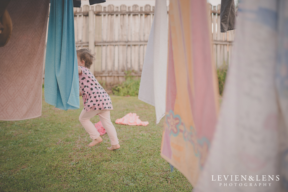 girl near washing line My 365 Project. April 2016 {New Zealand lifestyle wedding photographer}
