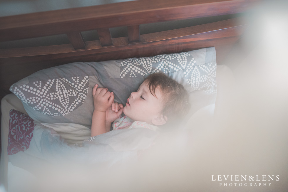 sleeping baby {New Zealand lifestyle photographer}