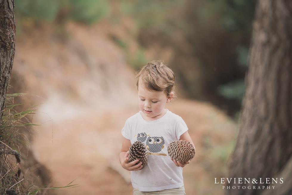 girl with cones Adventures on the bike track {Hamilton NZ lifestyle wedding photographer}