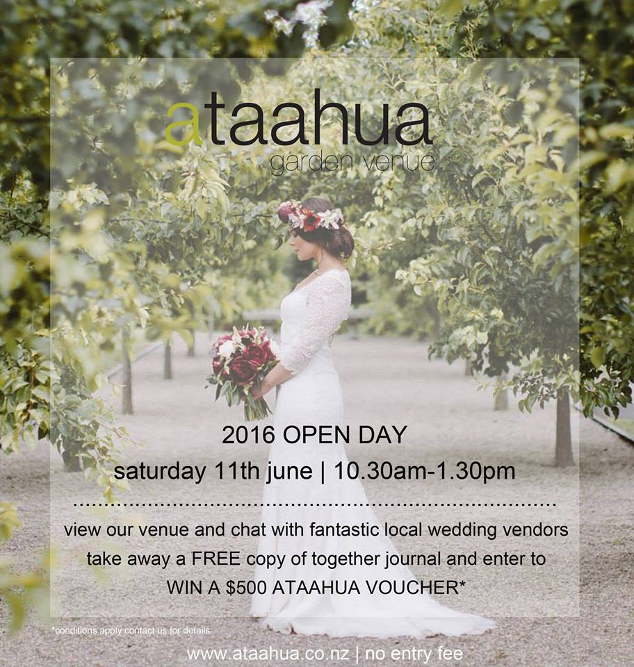 Ataahua garden venue {Tauranga wedding photographer}