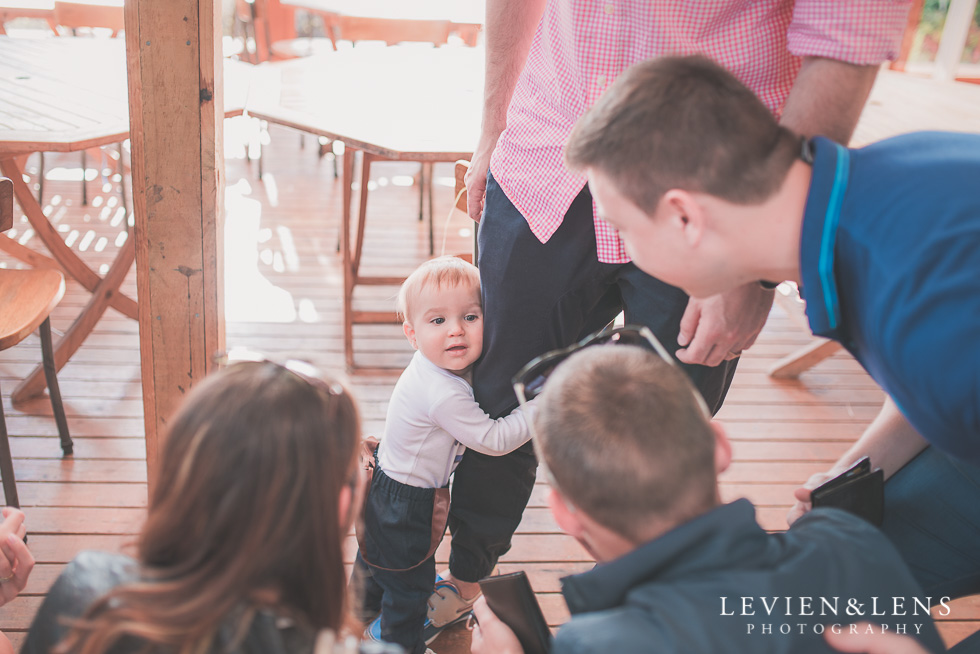 guests Butterfly Creek Minions birthday party {Auckland NZ event photographer} Nazar 1 year old
