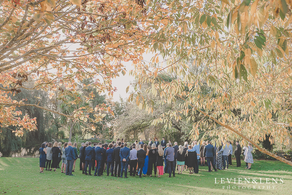 ceremony St Margarets Cafe - Karaka {Auckland lifestyle wedding photographer}
