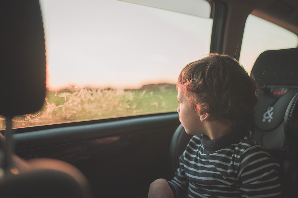 boy in car - 365 project {New Zealand lifestyle photographer}