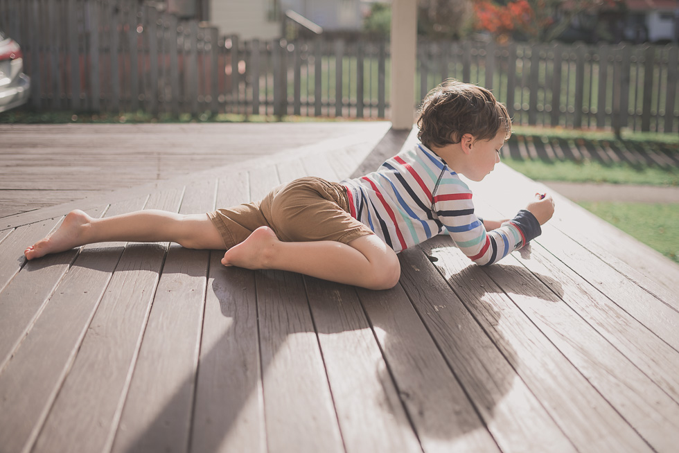 boy on deck - 365 project {New Zealand lifestyle photographer}