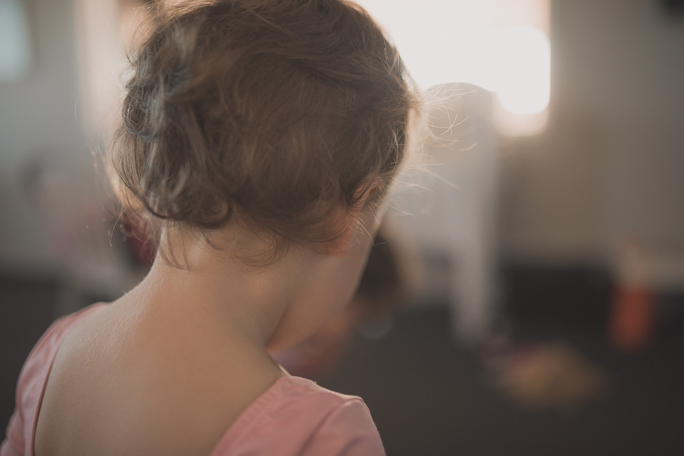 girl at ballet - 365 project {New Zealand lifestyle photographer}