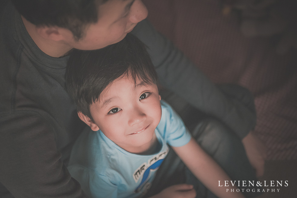 boy with dad - in home session {Hamilton NZ lifestyle family-newborn-kids photographer}