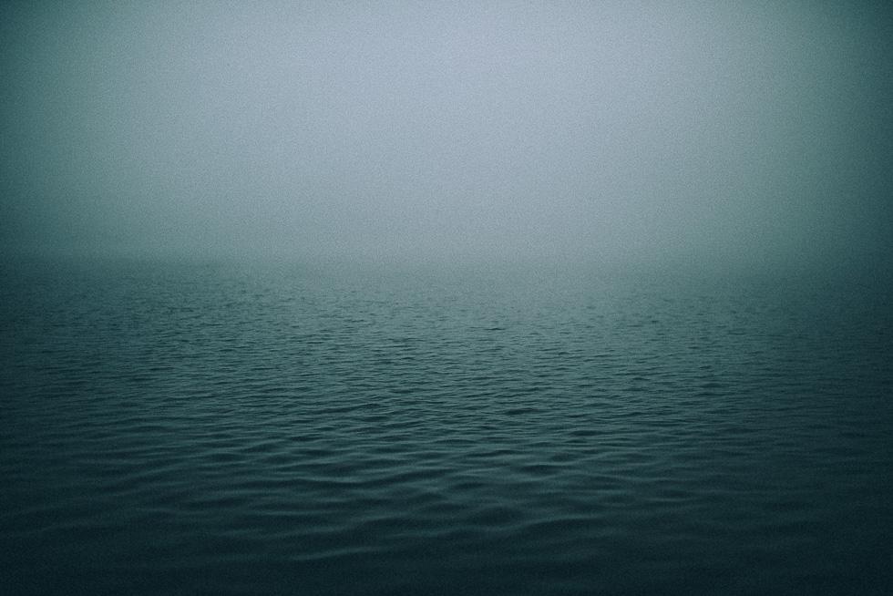 Fog at Lake Rotoroa {New Zelaand}