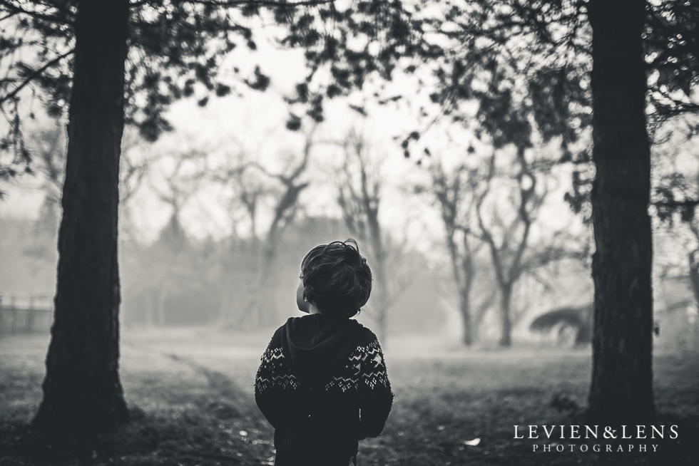 kid in fog forest - My 365 Project - July 2016 {Hamilton lifestyle wedding photographer}