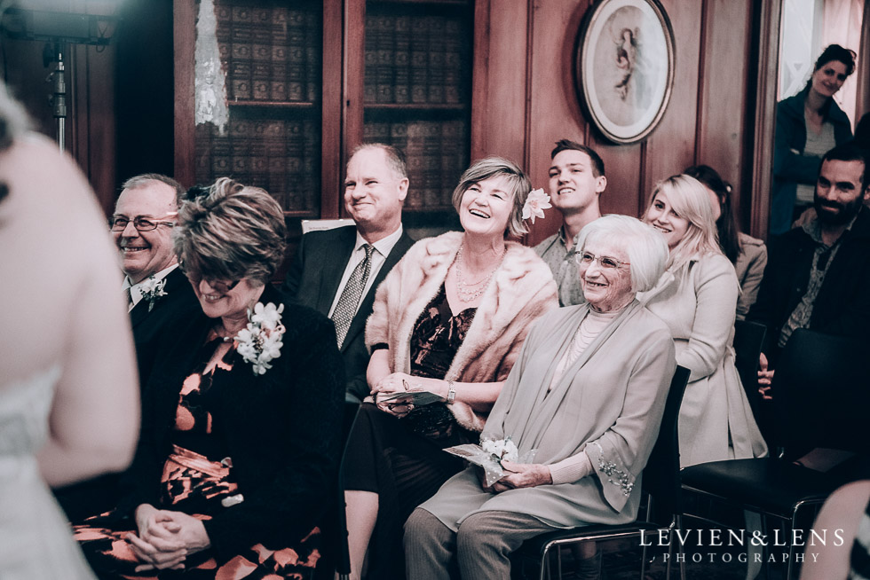 guests at ceremony - Highwic historic house-museum winter wedding {Auckland NZ lifestyle weddings photographer}