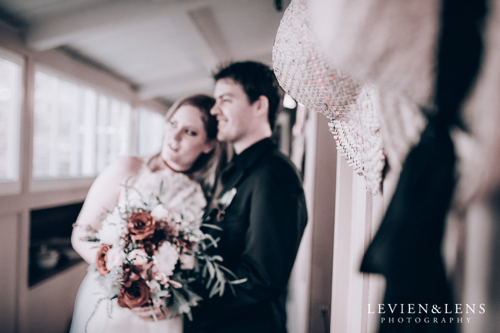 bride and groom intimate session - Highwic historic house-museum winter wedding {Auckland NZ lifestyle weddings photographer}