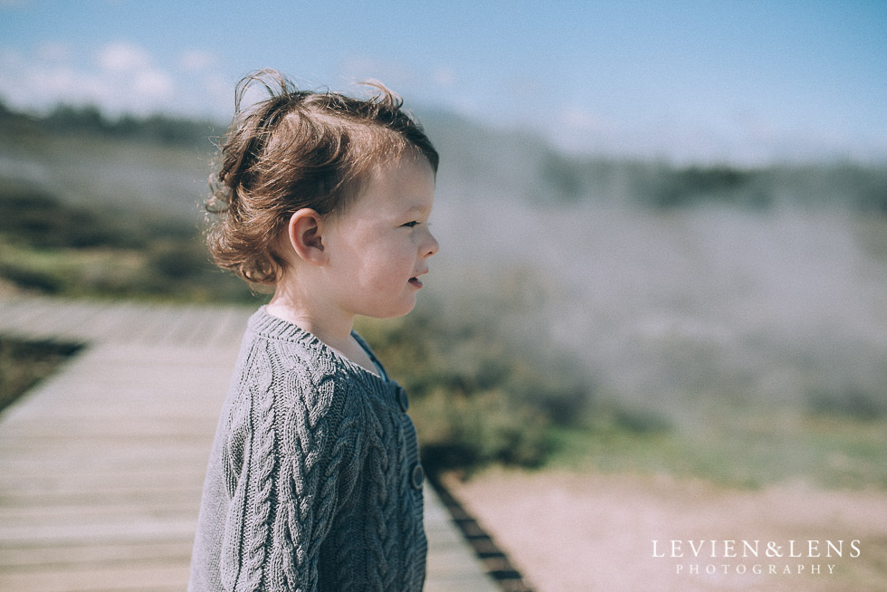 girl and fog - August {Hamilton-Taupo lifestyle wedding photographer}