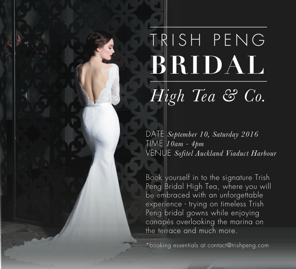 Bridal show - High Tea by Trish Peng {Auckland wedding photographer}
