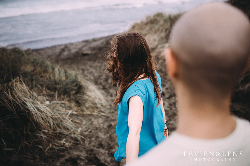 follow me - Muriwai Beach couples-engagement photo shoot {Auckland wedding photographer}