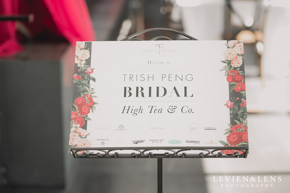 sign - Bridal Show - High Tea by Trish Peng {Auckland wedding photographer} Sofitel Viaduct