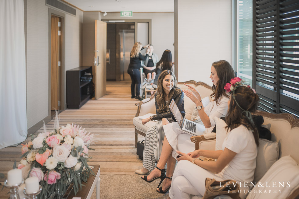 dressing - Bridal Show - High Tea by Trish Peng {Auckland wedding photographer} Sofitel Viaduct