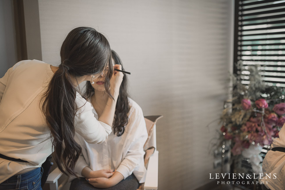 make up - Bridal Show - High Tea by Trish Peng {Auckland wedding photographer} Sofitel Viaduct