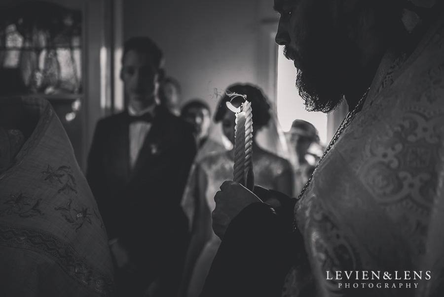blow candles - russian orthodox ceremony {Auckland wedding photographer}