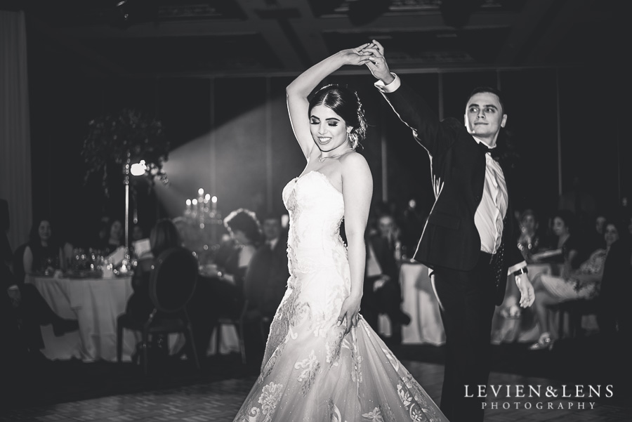 first dance - reception Langham Hotel Wedding {Auckland-NZ wedding photographer}