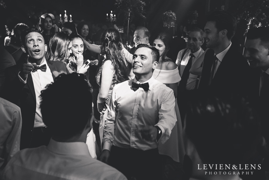groom dancing - reception Langham Hotel Wedding {Auckland-NZ wedding photographer}