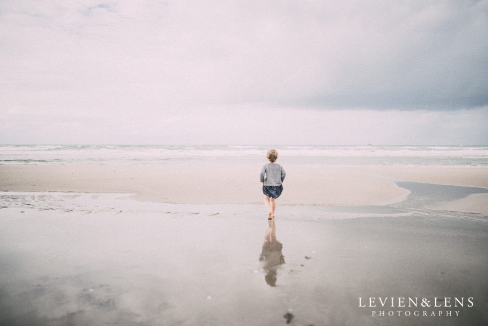 girl on the beach - One little day in Tauranga - personal everyday moments {Hamilton NZ wedding photographer} 365 Project