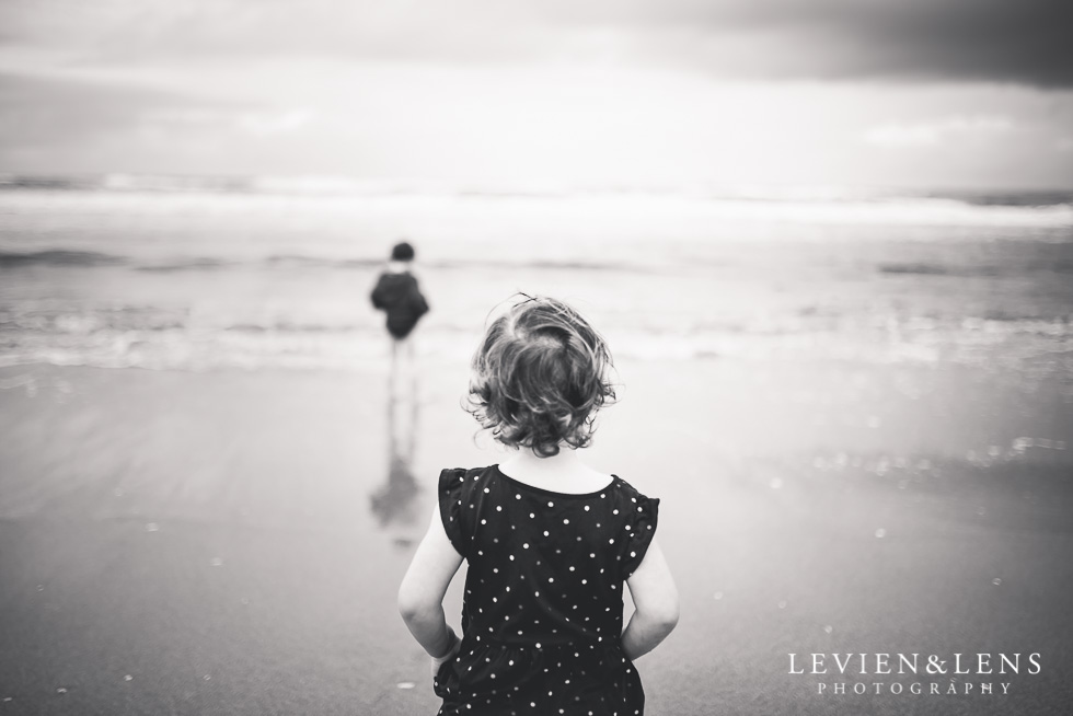 sister and brother on beach - One little day in Tauranga - personal everyday moments {Hamilton NZ wedding photographer} 365 Project