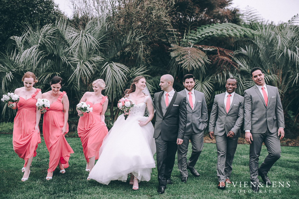 bridal party shoot - Markovina Vineyard Estate - Kumeu {Auckland wedding photographer}