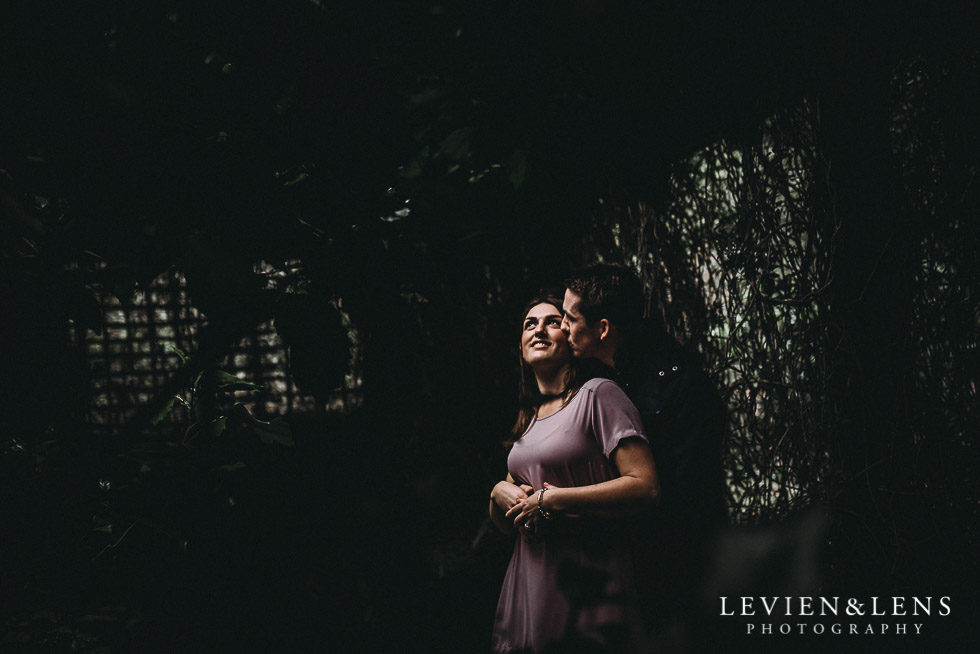 light - Hamilton Gardens engagement photo shoot {New Zealand wedding - couple photographer}