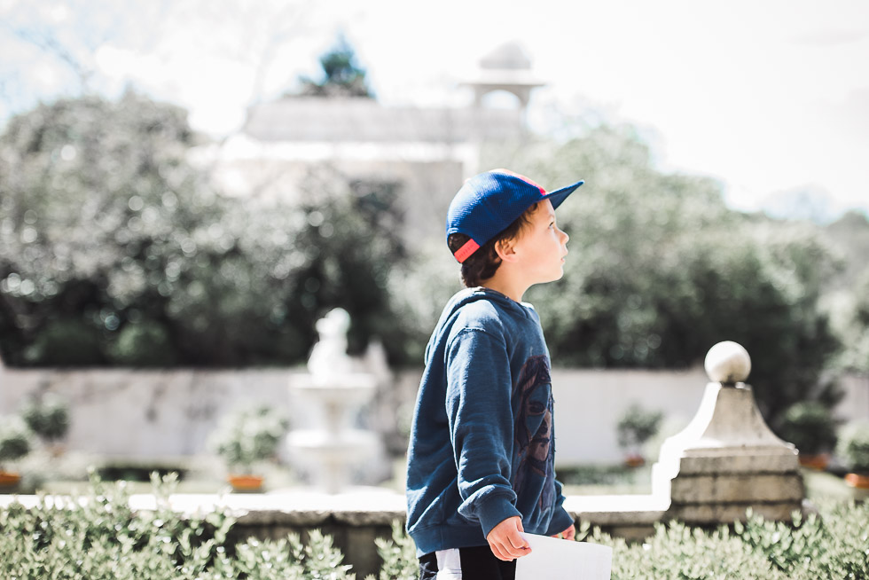 boy in Hamilton Gardens - Personal everyday moments - October 2016 - 365 Project {New Zealand family-wedding photography}