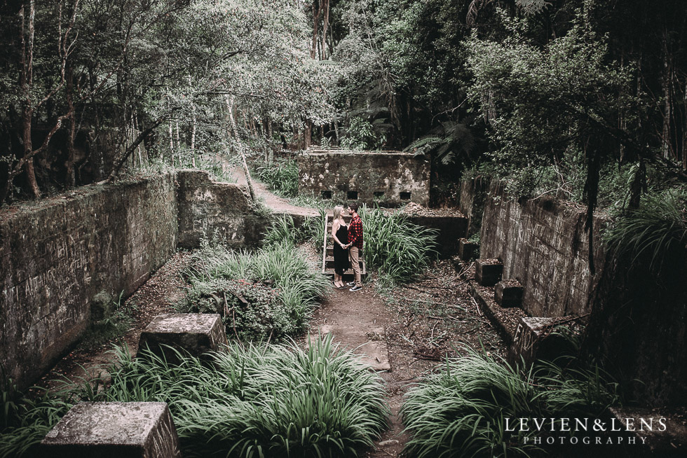 Jungle Book set up - Karangahake George engagement | couples photo shoot {Auckland-Waikato wedding photographer}