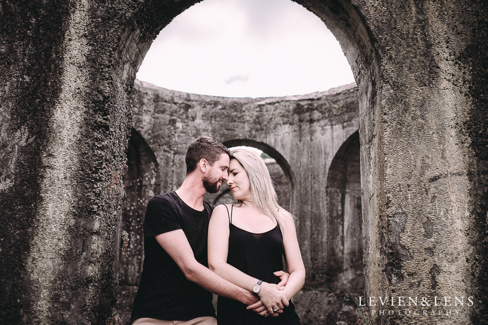 intimate moment - Karangahake George engagement | couples photo shoot {Auckland-Waikato wedding photographer}