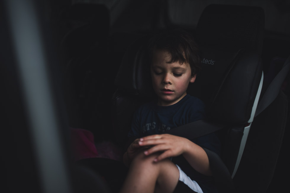 boy in car - My personal moments in 365 Project - November 2016 {NZ family photographer}