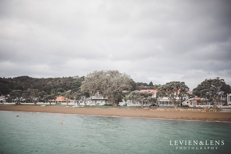 The Duke of Marlborough Hotel - Russel wedding {Northland-New Zealand weddings photographer} view from Paihia