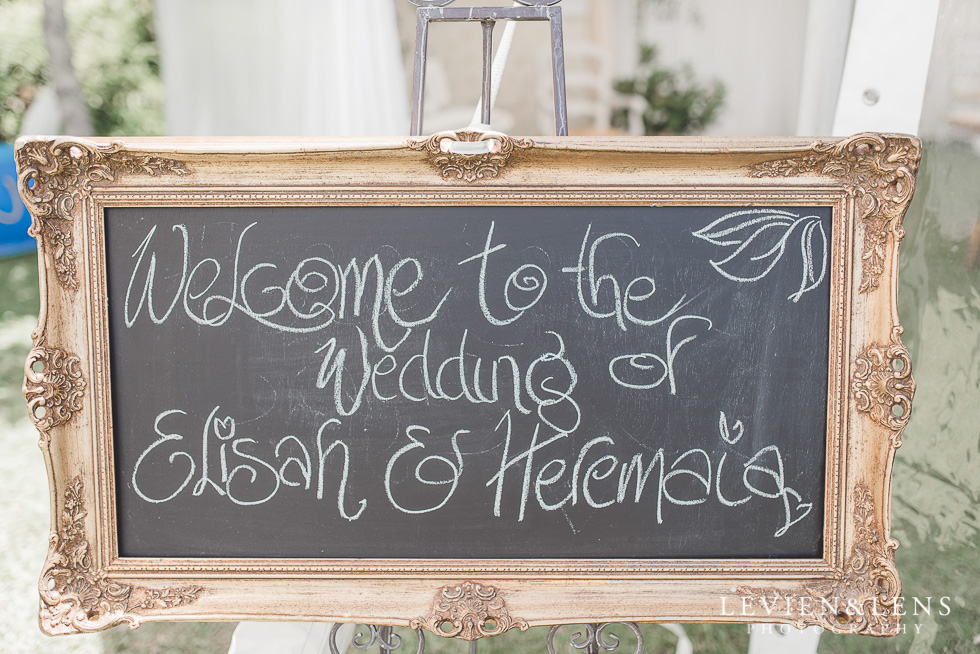 sign - Liddington Gardens - Kerkeri Northland {NZ destination wedding photographer}