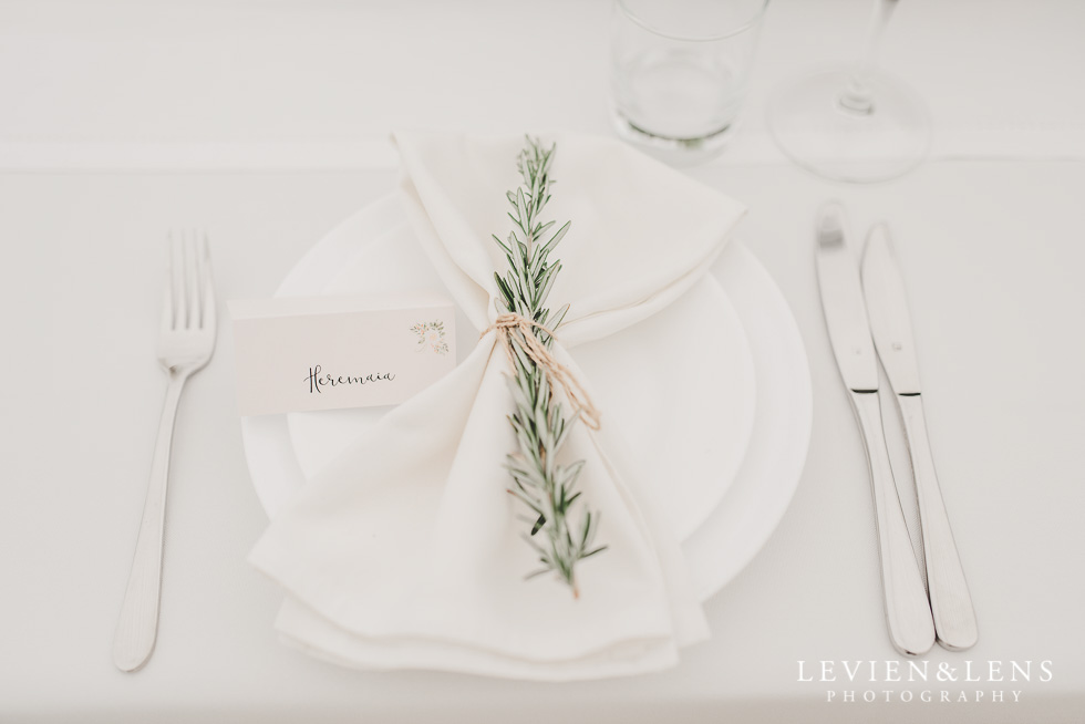 reception details - Liddington Gardens - Kerkeri Northland {NZ destination wedding photographer}