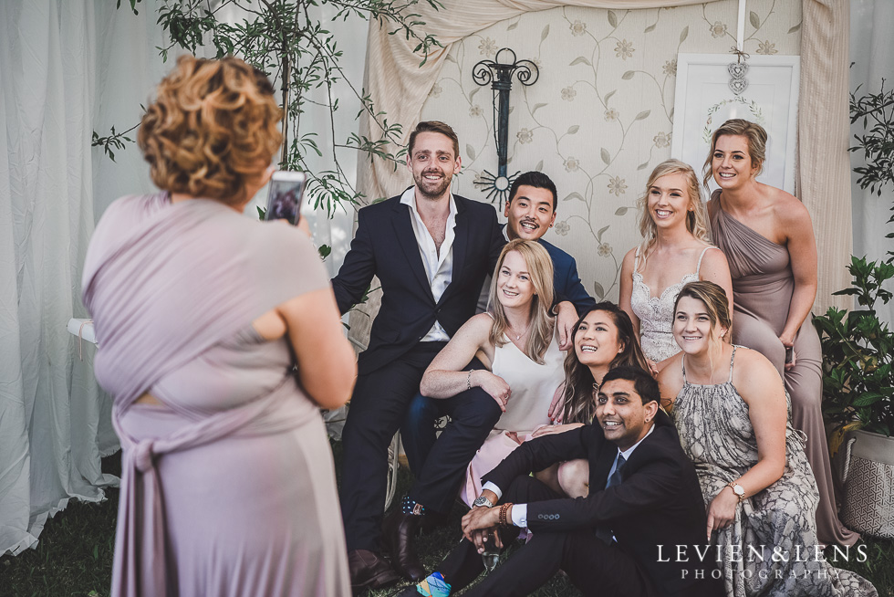 guests photo booth - Liddington Gardens - Kerkeri Northland {NZ destination wedding photographer}
