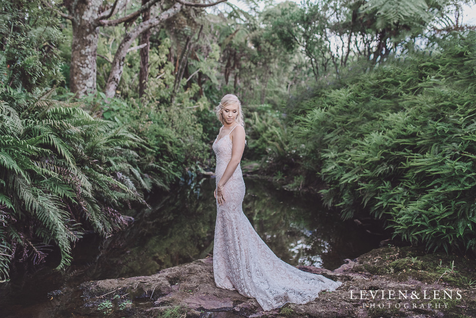bridal portraiture - Liddington Gardens - Kerkeri Northland {NZ destination wedding photographer}