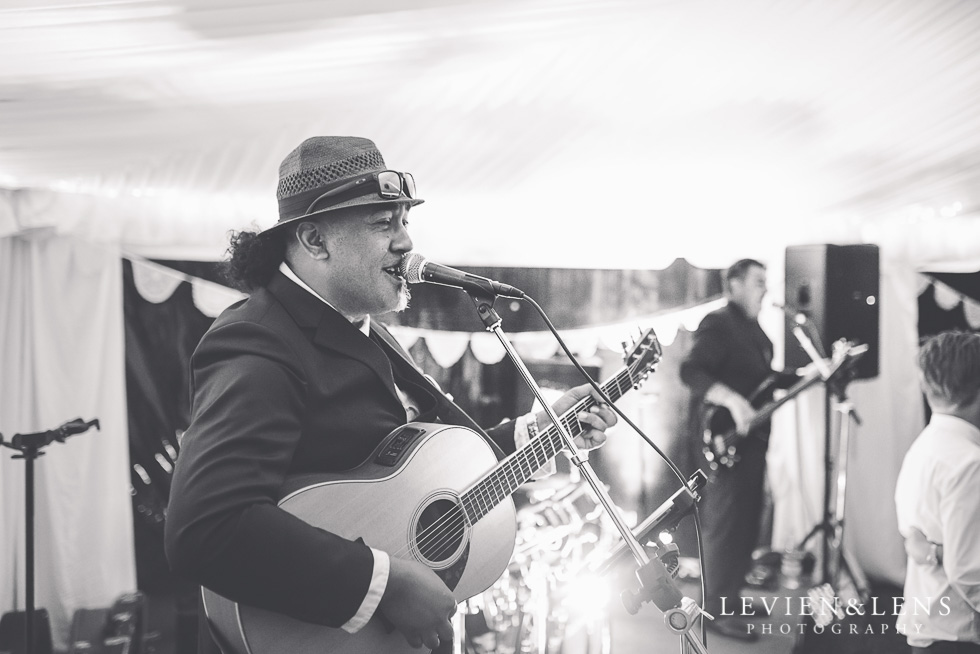 band reception - Liddington Gardens - Kerkeri Northland {NZ destination wedding photographer}