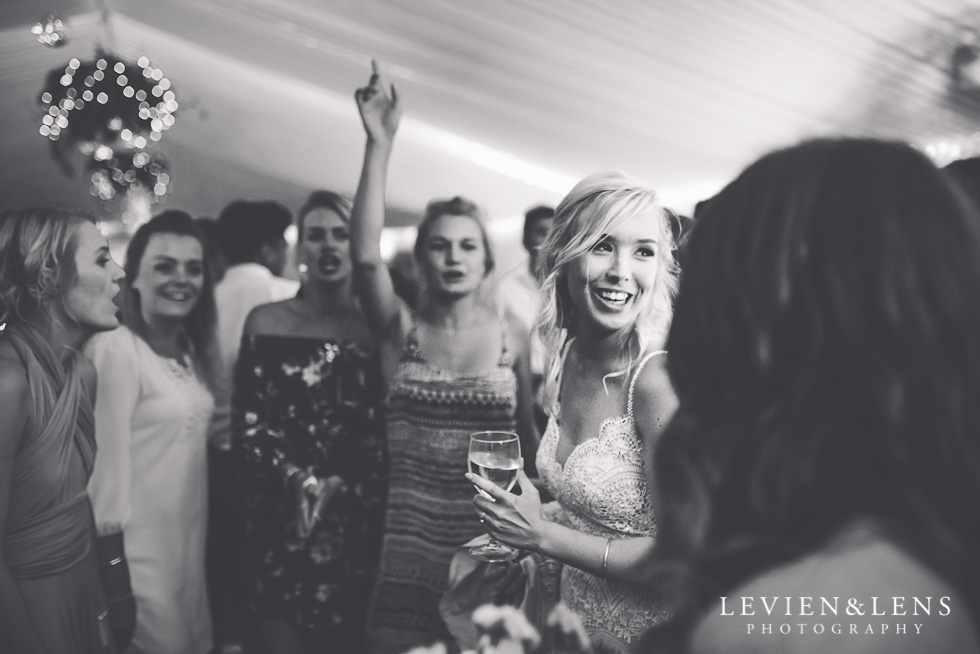 guests dancing reception - Liddington Gardens - Kerkeri Northland {NZ destination wedding photographer}