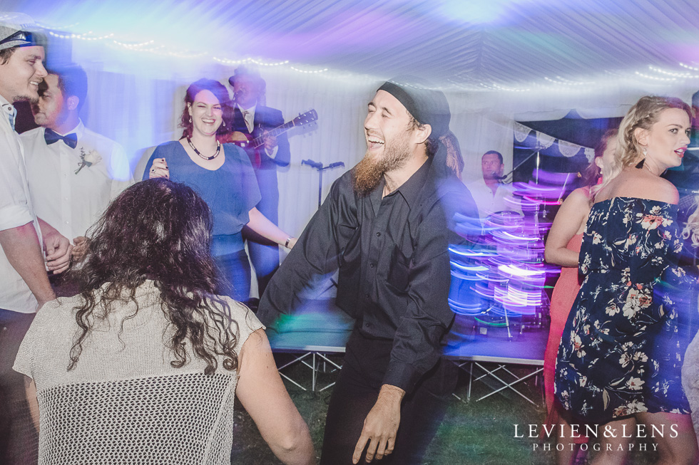 guests dancing - Liddington Gardens - Kerkeri Northland {NZ destination wedding photographer}