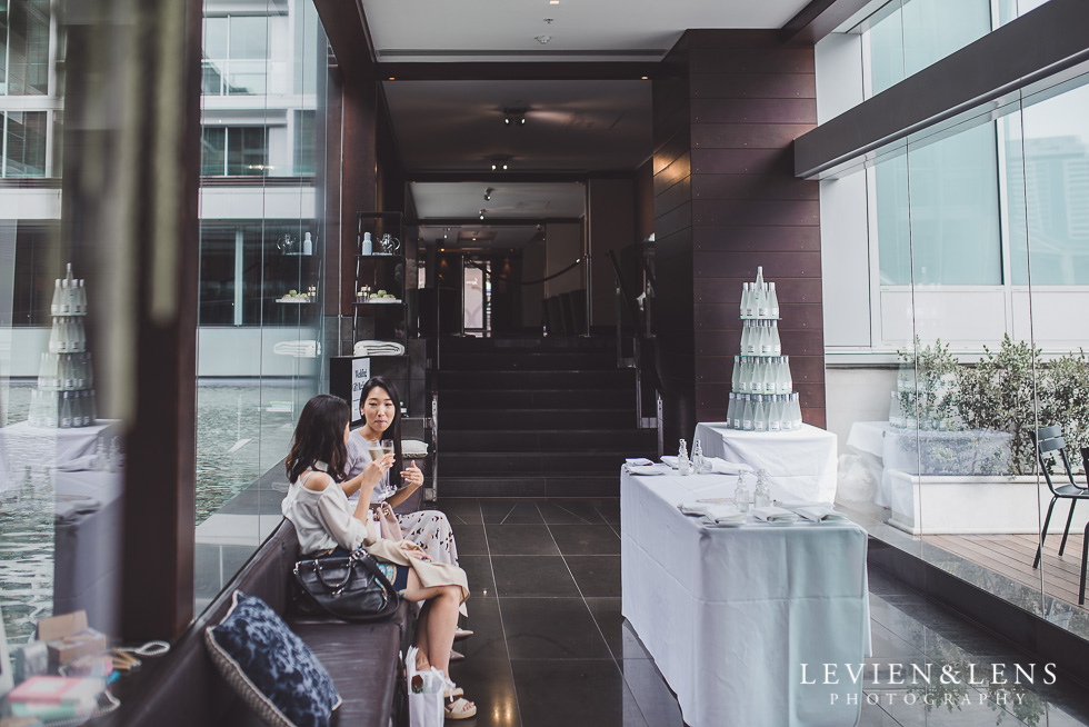 details - Trish Peng Christmas Bridal High Tea - Sofitel Viaduct Hotel {Auckland wedding photographer}