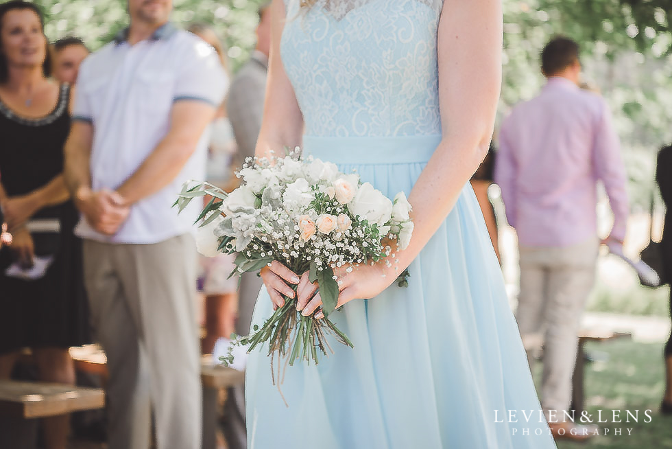 bridesmaid walking down aisle - Old Forest School Vintage Venue {Tauranga - Bay of Plenty wedding photographer}