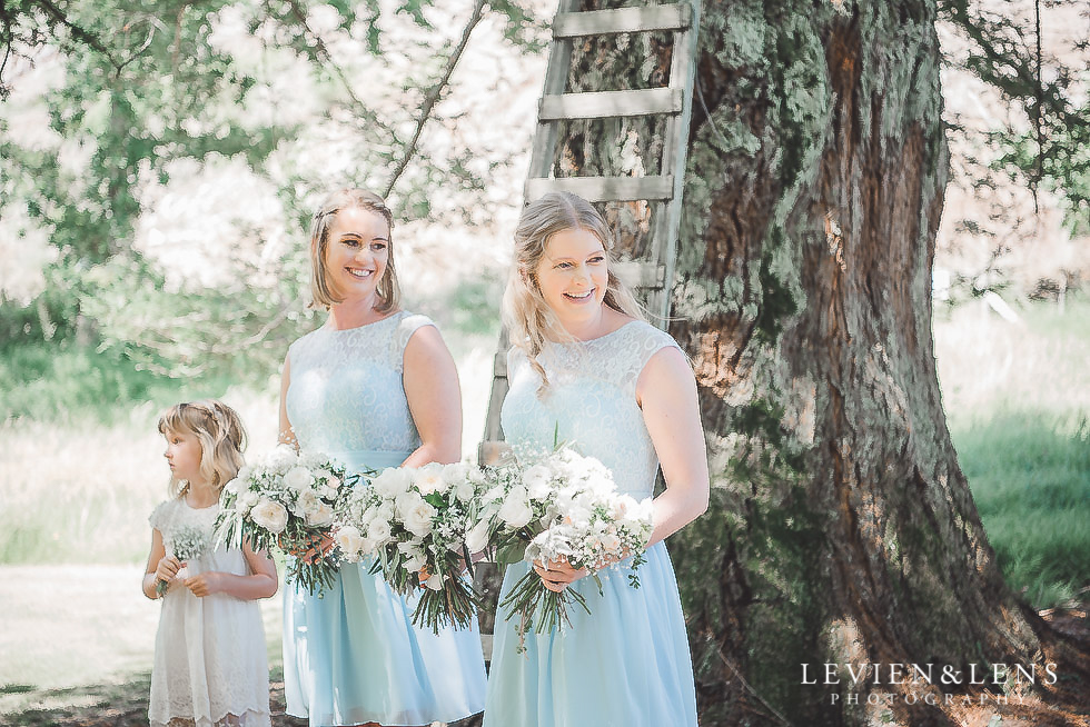 bridesmaids - Old Forest School Vintage Venue {Tauranga - Bay of Plenty wedding photographer}